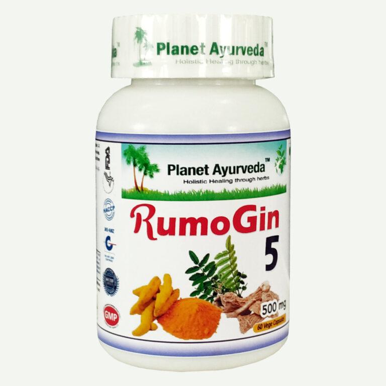 Planet Ayurveda RumoGin 5 capsules