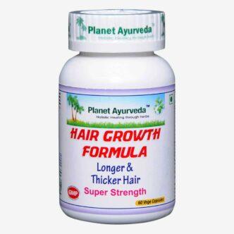 Hair Growth Formula capsules voor langer, dikker en sterker haar. Tegen haaruitval en vroegtijdige vergrijzing.